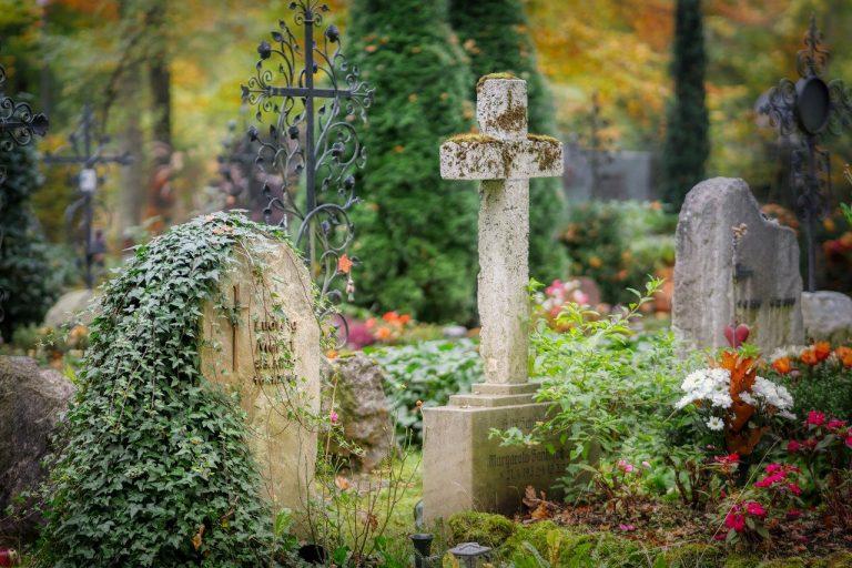 cemetery, tombstone, grave